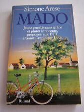 ROMAN , MADO , JEUNE PUCELLE SANS GRACE ... 205 PAGES . BON ETAT .