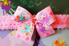 Giggle and Hoot Hootabelle Inspired Girls Toddlers Handmade Headband Toy Figure