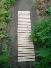 rollbarer Gartenweg Birkenholz 90 x 45 cm - Gartenplatten, Gehweg, Beetumrandung