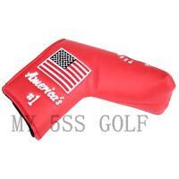 Golf Putter Cover USA Tree Design Golf Putter Head cover for Scotty Cameron Ping