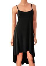 Zara Patternless Midi Sleeveless Dresses for Women