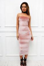 Vestiti da donna rosa di lunghezza totale