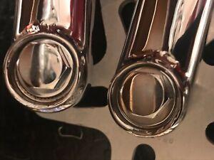 Profile Racing Crank Bolts Boss Cranks bolts chrome old school bmx