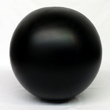 "7 Foot (84"") Black Latex Balloon sold with Free Led lights and Free Shipping"