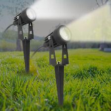 LED Garden Spike Spotlight Lights Outdoor Garden Yard Lawn Lamp Waterproof