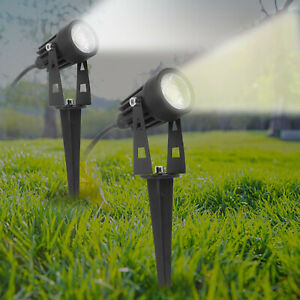 LED Garden Spike Spotlight Lights Outdoor Garden Yard Lawn Lamp Waterproof