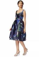 Debenhams Debut Navy 'Hydrangea' Prom Dress - Size 12 - BNWT £110