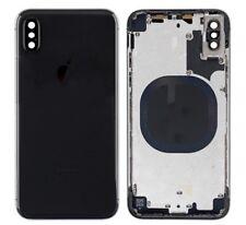 Chassis iPhone X Noir  Avec Vitre Arrière Dos