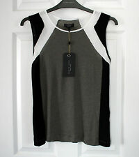 NEW RAG & BONE GUNMETAL THE MOTO TOP SIZE XS