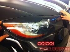 Painted BMW 06~11 E90 E91 3-series eye brows lids color-668 Jet Black ◎