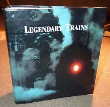 LEGENDARY TRAINS LOCOMOTIVES CHOO CHOOS STEAM DIESEL ATLAS BINDER PHOTOS FACTS !