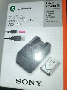Sony ACC-TRBX  Charger ONLY BRAND NEW!!...NO BATTERY