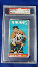 1964-65 Topps- Tall Boys Hockey # 10, Bob McCord. PSA Graded: 8 Nm-Mt