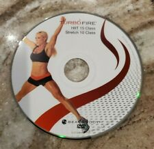 TURBO FIRE - Chalene Johnson - HIIT 15, STRETCH 10 - DVD Replacement Discs
