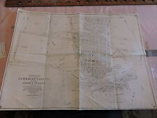 Rare 1930 18x24 Union Tpke Hillcrest Long Island Motor Parkway Grand Central Map