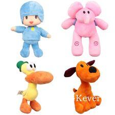 4X Cartoon Pocoyo Elly Pato Loula Plush Toy Baby Stuffed Animal Doll Xmas Gift