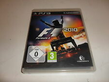 PlayStation 3  PS 3  F1 2010 - Formula 1