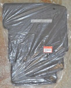 NEW OEM Genuine Honda Ridgeline TU Dark Gray Floor Mats - 83600-SJC-A11ZB