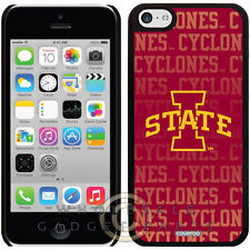 Apple iPhone 5C/i5C/Lite Licensed Shield NCAA Iowa State Cyclones Repeating Case