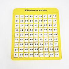 Lakeshore Multiplication Machine Math Game Learning Aid Homeschool