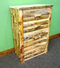 Rustic Log Dresser 5 Drawers - $799 - Dovetail Drawers - Free Shipping