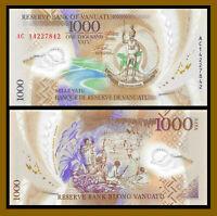 Vanuatu 1000 (1,000) Vatu, 2014 P-13 Series AC Polymer banknoteUnc
