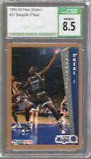 New listing 1992/93 Fleer Drake's Shaquille O'Neal Rc #37 CSG 8.5