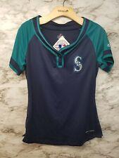 Seattle Mariners MLB Fan Fashion JERSEY MAJESTIC Womens Medium NWT $40 MSRP