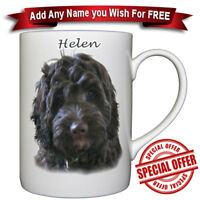 Cockapoo - Fine Bone China Mug + Personalized with any name added free