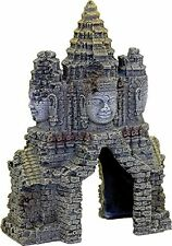 Aquarium Decor Angkorwat Temple Gate Fish Tank Ornament Cambodian Centrepiece