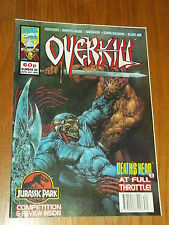 OVERKILL #34 MARVEL BRITISH MAGAZINE 30 JULY 1993 WARHEADS DEATHS HEAD II^