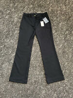 BNWT Paul Smith Black Label Womens 100% Merino Wool Woven Trousers Size42 UK10