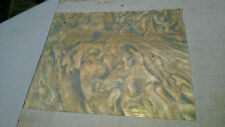 500ft BRASS Marshall Fields SHELF BACKING Wrapping Paper Gift Wrap PREMIUM VINT.