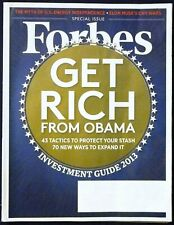 Forbes Special Issue Dec 10, 2012- Investment Guide - Get Rich From Obama