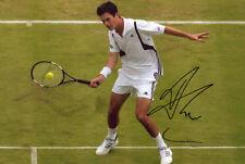 TIM Henman, TENNISTA Britannico, Wimbledon, di Coppa Davis, firmato 12x8 PHOTO. COA.