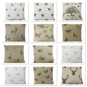 Fryetts Country farm Animals multi design listing cushion cover