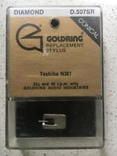 RECORD PLAYER NEEDLE GOLDRING REPLACEMENT STYLUS ( D.507 SR ) NEW OLD STOCK
