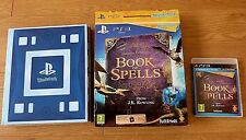 Playstation 3 Book of Spells Game from J.K.Rowling WONDERBOOK for PS3