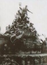 Fountain of Neptune, Dresden, Germany Magic Lantern Glass Slide