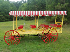 antique horse drawn wagon excellent condition historic artifact