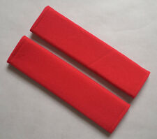 Car Seat Belt Shoulder Pads Covers Cushion For all car RED NEW