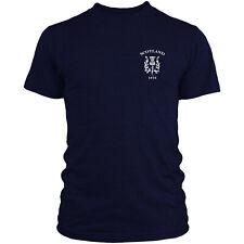 Scotland Retro Rugby T Shirt 6 Nations Scottish Top Men Women Kids 2017 Navy L4