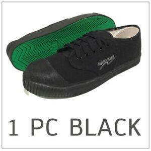 Shoes Thai Canvas Nanyang Sneakers Natural Rubber Green Sole 205-s Size 5.5-16