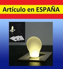 LUZ LED ORIGINAL TARJETA DE CREDITO bombilla cartera iluminacion portatil pilas