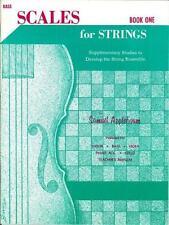 Applebaum: Scales for Strings Book 1. Bass EL01855