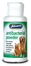 JOHNSON'S DOG CAT PET ANTIBACTERIAL ANTISEPTIC POWDER