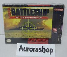 SNES Super Nintendo Spiel Super Battleship / US-Version / neu+ovp in Folie
