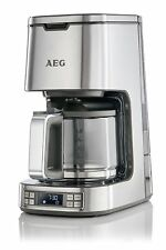 AEG 7 Series Digital Filter Coffee Machine, 1100 W - Stainless Steel