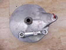 1974 Yamaha RD350 RD250 RD 350 Y646' rear wheel brake plate #3