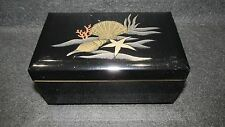 OTAGIRI LACQUERWARE JEWELRY/TRINKET MUSIC BOX